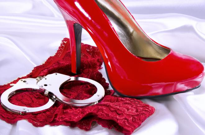 handcuffs-high-heel-and-underwear
